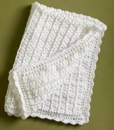Classic Coverlet - Free Crochet Pattern