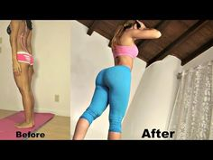 Butt and Thigh Workout for a Bigger Butt - Exercises to Lift and Tone Your Butt and Thighs - YouTube