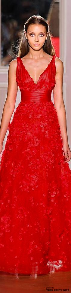 Zuhair Murad - red couture - F/W 2012-13
