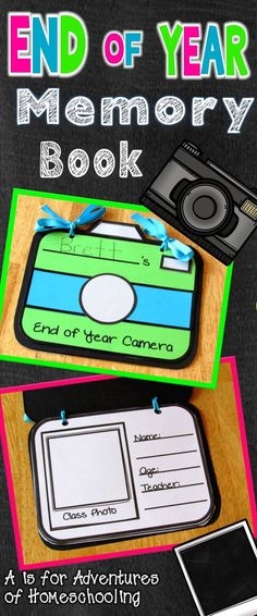 End of Year Activity Memory Book!