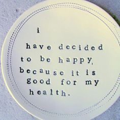 Reason to be #happy -