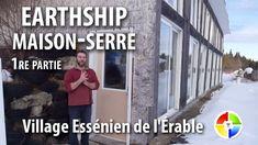 Visite du Earthship du Village Essénien de l'Érable (1/3) Earthship, Baseball Cards