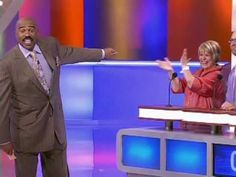 Too darn funny.where do these folks live? Haha, Family Feud, Best Video Ever, Bahaha, Steve Harvey Family, Family Humor, Comedians, Laugh Out Loud, Life Humor