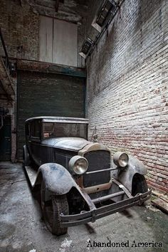 Abandoned. gosh - what a shame...