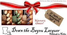Down the Bayou lacquer giveaway!