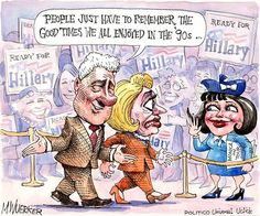 Flashback to the '90s | Cartoon by Matt Wuerker/POLITICO