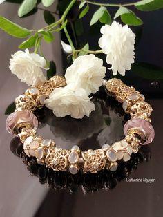 Pandora Bracelets, Pandora Jewelry, Pandora Charms, Bangle Bracelets, Bangles, Pandora Essence, Pandora Gold, Girls Best Friend, Burlap Wreath