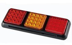 LED Rectangular Stop Tail And Fog Light