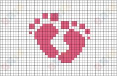 Cross Stitch Maker, Cross Stitch Baby, Cross Stitching, Cross Stitch Embroidery, Pixel Art, 8 Bit Art, Charts And Graphs, Art Design, Needlepoint