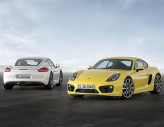 What is the 2013 Porsche Cayman? (© Porsche)