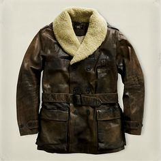 RRL Flight Jacket . . . great for cold days . . . fun jacket!