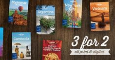 eBook Travel Guides and PDF Chapters from Lonely Planet: Lonely Planet Offer! Buy any 2, get a 3rd FREE
