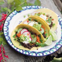 Prep Time: 5 Minutes   Cooking Time: 10 MinutesServes 4For a catch up with friends, family-style tacos allow everyone to build their meal to their own taste. Plus, the protein in the lentils makes this dish ideal for anyone trying to reduce their intake of animal products.
