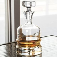 Traditional Decanter-Clear - Global Views - $99.00 - domino.com