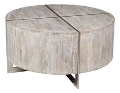 Desmond Rnd Coffee Table Gray