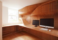 13 Best Futuristic Home Office Designs; Bought to you by Shoplet, everything for your business.