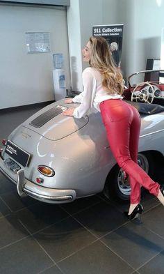 porsche - 4 Stars & Up Porsche 356, Porsche Cars, Porsche Sports Car, Porsche Models, Ferdinand Porsche, Sexy Cars, Hot Cars, Bus Girl, Car Girls
