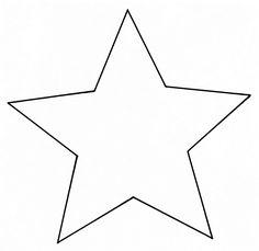 Christmas | Xmas | Jul | Noël. DIY: Decoration. Star. Template