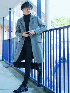 たろーさん│Johnbull Private labo Overcoat Looks - WEAR