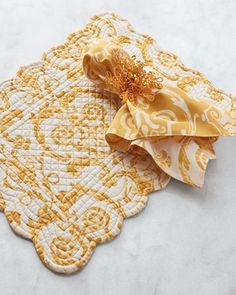 Gold+Bead+Napkin+Rings,+Set+of+4+at+Horchow.
