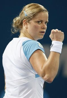 Kim Clijsters // my fave player