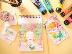 illustration Portrait peinture painting drawing