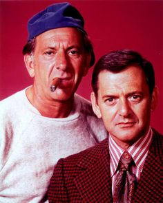 The Odd Couple  - Oscar Madison (Jack Klugman) Felix Unger (Tony Randall)