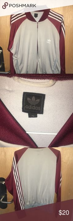 Adidas Jacket Adidas Jacket! My favorite! Wearable with pretty much anything! Has a small hole on inside of the pocket (invisible from the outside) adidas Jackets & Coats Lightweight & Shirt Jackets