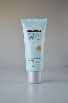 Resenha: Base Pure Makeup Maybelline