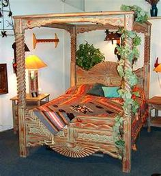 1000 images about decor on pinterest leopard print for Southwest beds