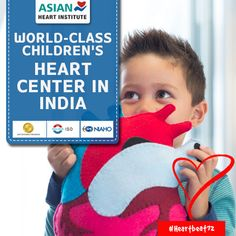 Asian Heart Institute (AHI) has been set up with an aim to provide world-class #Children's #HeartCenter in India.   Read More: http://asianheartinstitute.org/childrens-heart-center.html  #Heartbeat72