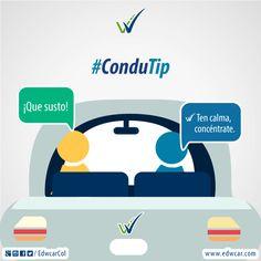 ¡Que los nervios no te ganen! Conduce con calma. Si entras en pánico, toma tiempo para relajarte. Map, Industrial Safety, Road Traffic Safety, Learning To Drive, Calm, Tips, Location Map, Maps