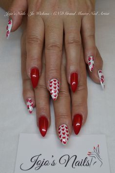 CND Brisa Gel nail enhancements with Shellac and hand painted nail art - By Jo Wickens @ Jojo's Nails - www.jojosnails.com
