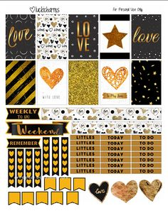FREE Midnight Love Valentine's Printable by Luckicharms