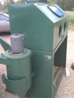 Peterson Machine Tools GlassBeading/Sandblasting Cabinet Mod# P- 48 Refurbished