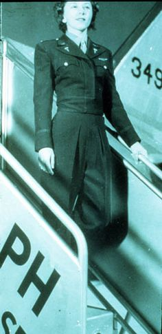 """The official WWII flight nurse uniform. In """"A Memory Between Us,"""" Lt. Ruth Doherty wears this uniform."""