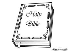 Free Holy Bible Printable And Online Coloring Page