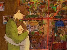 Sommige knuffels zijn zo krachtig dat ze in plaats van ons te breken, ons weer heel maken. Dit komt doordat we, poëtisch gezegd, emotioneel zijn afgestemd.