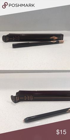 Charlotte Tilbury Iconic Liquid Eye Pencil Eye cheat for bigger, brighter eyes. Used only once. Box included. Makeup Eyeliner