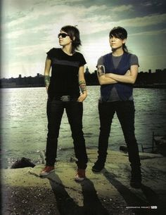 Tegan and Sara...I've really gotten into their music since my recent break-up :/
