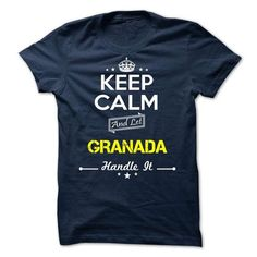 GRANADA -keep calm - #homemade gift #gift basket. BUY IT => https://www.sunfrog.com/Valentines/-GRANADA-keep-calm.html?68278