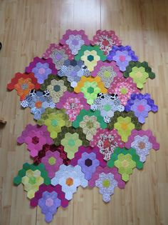 Hexagon Patchwork, Hexagon Pattern, Hexagon Quilt, Sewing Patterns, Crochet Patterns, English Paper Piecing, Projects To Try, Scrap, Quilting