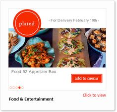 Ad gallery is rich in examples of ads built from dynamic image templates. Food 52, Food Plating, Menu, Ads, Gallery, Image, Menu Board Design, Menu Cards, Food Presentation