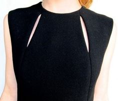 Pauline Trigere Wool Dress