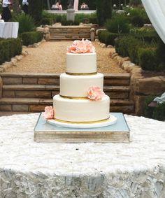 Красивые свадебные торты 2015 года - фото