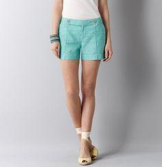 Super cute linen shorts from the LOFT! :)