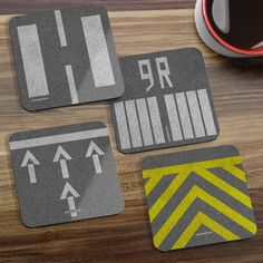 Coaster Sets now available!   Raise a glass to welcome our Coaster Sets. Travel lovers and aviation geeks will love landing their drinks on these 5 special sets.  http://ift.tt/2lNgdLg