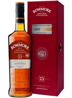 Bowmore 23 Year Old Port Cask Single Malt Scotch Whisky