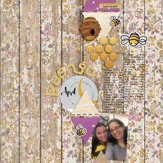 BEEngo | #joycreated with digital scrapbooking products by ForeverJoy designs