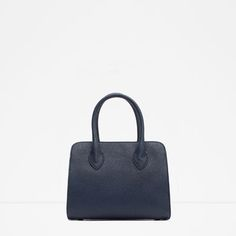Image 1 of CITY BAG WITH HANDLE from Zara